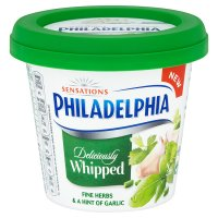 Philadelphia Whipped Herbs & Garlic