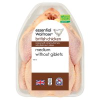 essential Waitrose British Chicken Medium