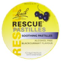 Bach Rescue blackcurrant pastilles