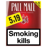 Pall Mall king size red