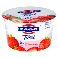 Total 0% fat free Greek yoghurt with strawberry