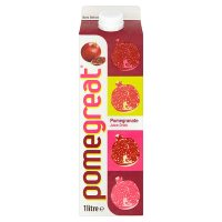 PomeGreat® PurePlus™ Chilled Pomegranate Juice Drink 1 Litre