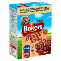 PURINA® BAKERS® Meaty Meals™ Adult Beef Dry Dog Food