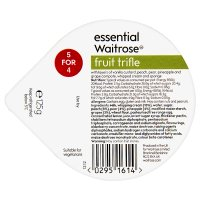 essential Waitrose fruit trifle