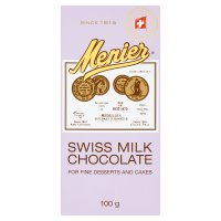 Menier Swiss Milk Chocolate