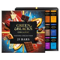 Green & Black's organic chocolate bar tasting collection