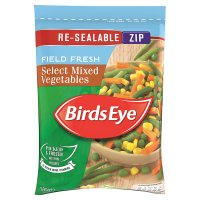Birds Eye field fresh select mixed vegetable frozen