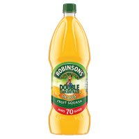 Robinsons orange fruit squash, double concentrate