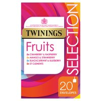 Twinings fruit selection 20 tea bags