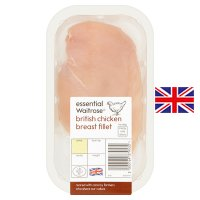 essential Waitrose British Chicken Breast Fillet