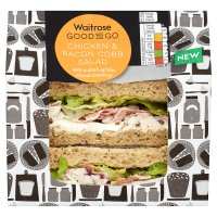 GOOD TO GO chicken & bacon cobb salad sandwich