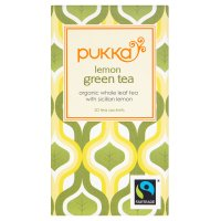 Pukka Fairtrade lemon green tea 20 sachets
