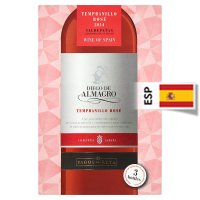 Diego de Almagro, Tempranillo. Boxed Rose Wine
