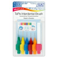 TePe mixed interdental brush pack