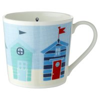 Waitrose Dorset Beach Hut Mug