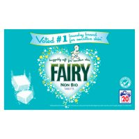 Fairy Non Bio  Tablets Washing Tablets 40pack 20 washes