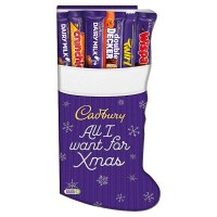 Cadbury Medium Stocking Chocolate Selection Box 194g