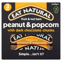 Eat Natural bars peanut & popcorn with dark chocolate