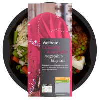 Waitrose vegetable biryani