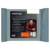 Waitrose Mature Cheddar