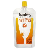 Funkin puree white peach bellini cocktail mixer image