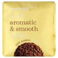 Waitrose Gold Coffee Refill 100% Arabica strength 3