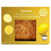 Waitrose Lemon Drizzle Pudding