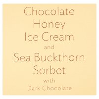 Winterspring Chocolate Honey & Sea Buckthorn Sorbet