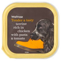 Waitrose terrine rich in chicken pasta & tomato