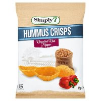 Simply7 Hummus Crisp Roasted Red Pepper