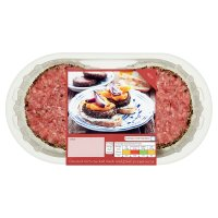 Waitrose 4 Hereford peppered steak burgers