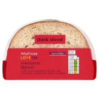 Waitrose LoveLife wheatgerm bloomer sliced bread