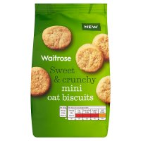 Waitrose mini oat biscuits