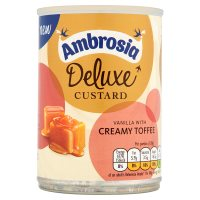 Ambrosia Deluxe Custard Vanilla with Creamy Toffee