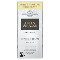 Green & Black's organic cooking chocolate white