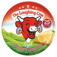 The Laughing Cow Light with Cheddar 8 Triangles