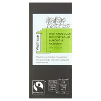 Waitrose 1 hazelnut & almond milk chocolate, 39% cocoa