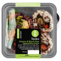 Taiko Quinoa & Black Rice Vegetable Sushi