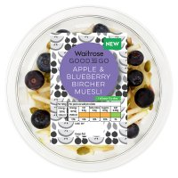 GOOD TO GO Apple & Blueberry Bircher Muesli