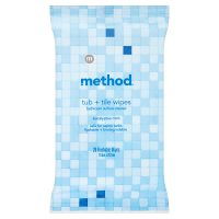 Method flushable wipes