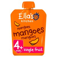 Ella's Kitchen Organic first tastes mangoes mangoes mangoes baby food