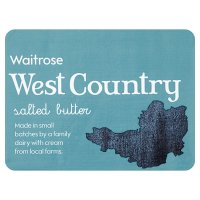 Waitrose West Country salted butter