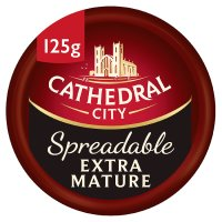Cathedral City Spreadable Extra Mature Cheddar