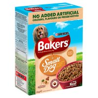 Bakers complete small dog beef & vegetable