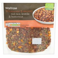Waitrose Red Rice Lentils & Butternut