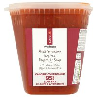 Waitrose LOVE life Mediterranean vegetable soup