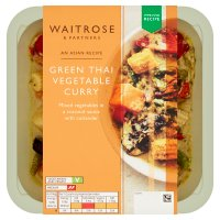 Waitrose Asian Green Thai Vegetable Curry