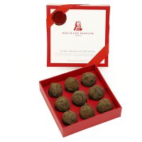 Sir Hans Sloane dark chocolate truffles