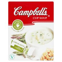 Campbell's asparagus cup soup