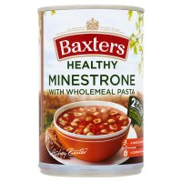Baxters healthy choice minestrone wholemeal pasta soup